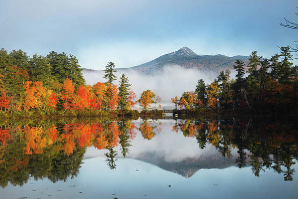 Photograph - Mount Chocorua Fall Reflection by Robert Clifford