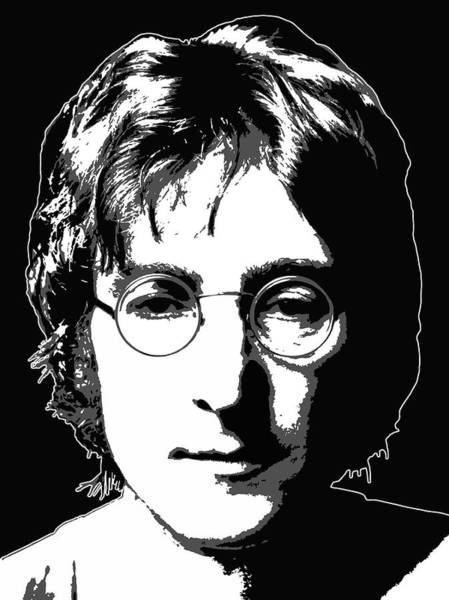Wall Art - Digital Art - Quintessential Lennon by Daniel Hagerman