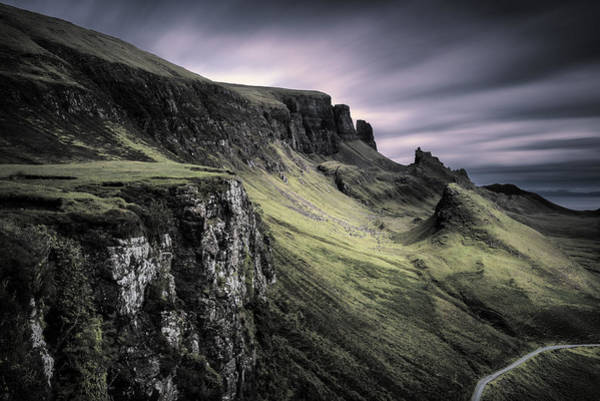 Photograph - Quiraing by Dave Bowman