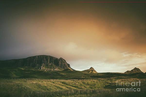 Photograph - Quiraing Landscape 4 by David Lichtneker
