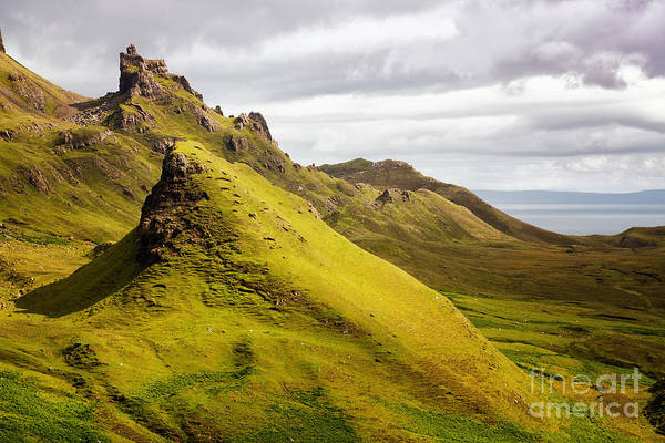 Wall Art - Photograph - Quiraing Mountains by Jane Rix