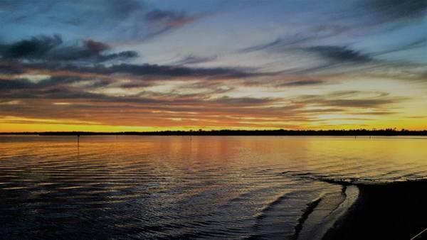 Sunset Wall Art - Photograph - Quite Rewarding by Ric Schafer