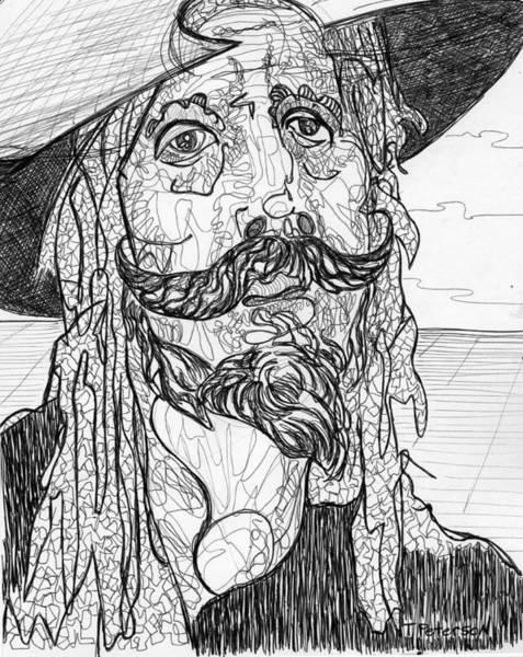 Man Of La Mancha Wall Art - Drawing - Quixote by Todd  Peterson