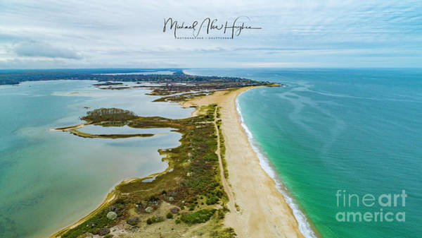 Photograph - Quonochontaug Beach by Michael Hughes