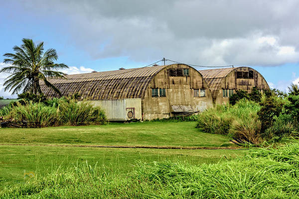 Photograph - Quonset Huts by Jim Thompson