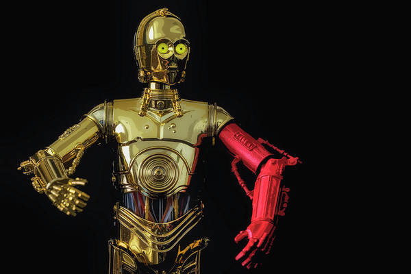C3po Photograph - R2-d2, Where Are You? by Larry Helms
