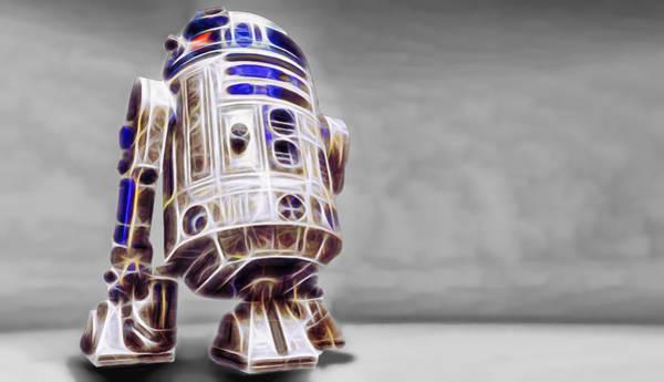R2-d2 Digital Art - R2 Feeling Good by Scott Campbell