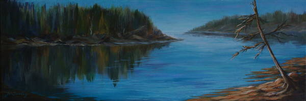 Painting - Rabbit Blanket Lake by Joanne Smoley