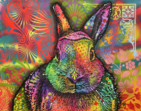 Rabbit Painting - Rabbit by Dean Russo Art
