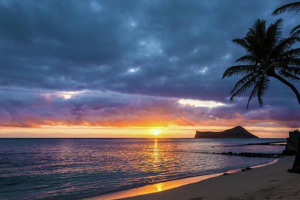 Wall Art - Photograph - Rabbit Island Sunrise 3 - Oahu Hawaii by Brian Harig
