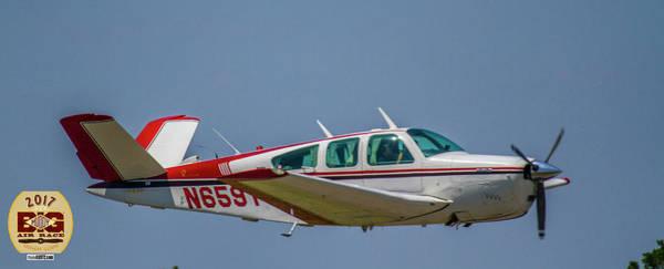 Photograph - Race 57 Fly By by Jeff Kurtz