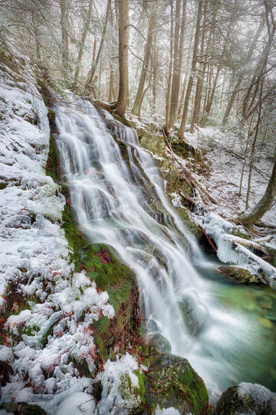 Photograph - Race Brook Falls Spring 2018 by Bill Wakeley