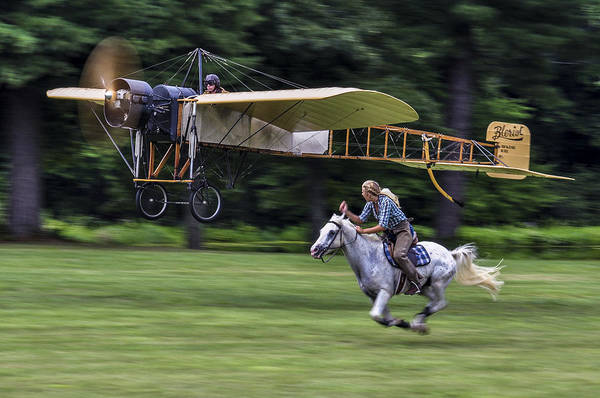 Bleriot Photograph - Race Of The Century by Lance Johnson