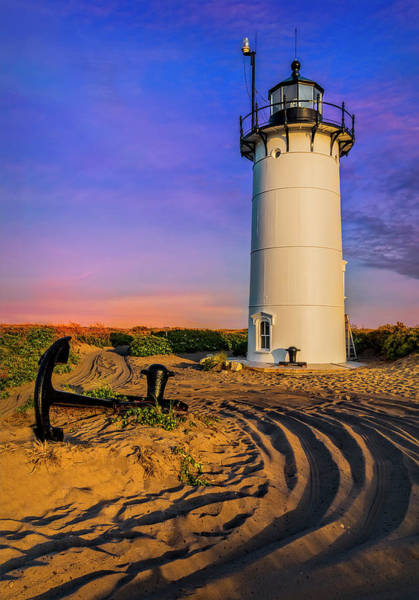 Photograph - Race Point Light Provincetown Ma by Susan Candelario