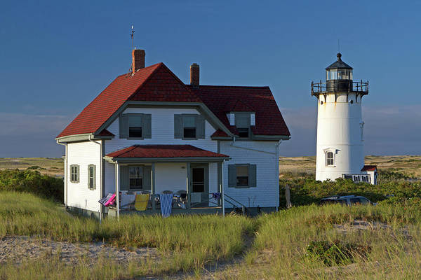Photograph - Race Point Lighthouse by Juergen Roth