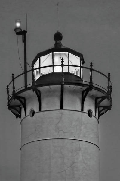 Photograph - Race Point Lighthouse New England Bw by Susan Candelario