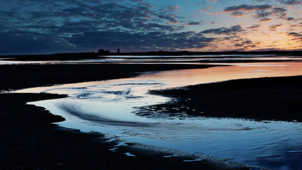 Provincetown Ma Wall Art - Photograph - Race Point Low Tide Sunset by Bill Wakeley