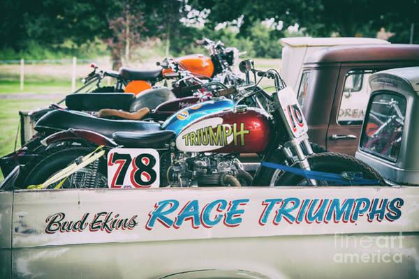 Photograph - Race Triumphs by Tim Gainey