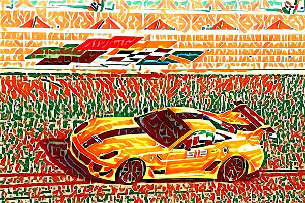 Photograph - Racer Yellows by Alice Gipson