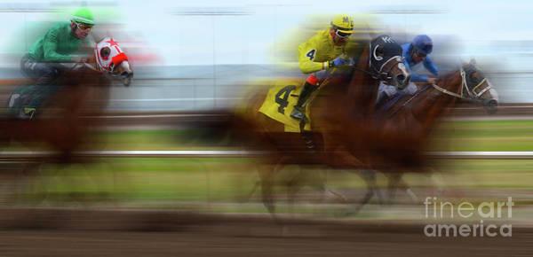 Lethbridge Photograph - Racetrack Dreams 1 by Bob Christopher