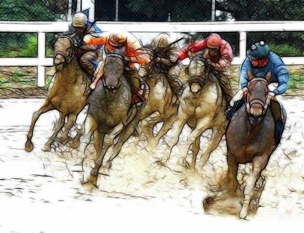 Lethbridge Photograph - Racetrack Dreams 10 by Bob Christopher