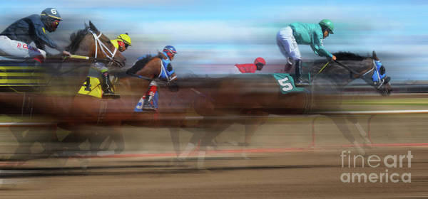 Lethbridge Photograph - Racetrack Dreams 2 by Bob Christopher
