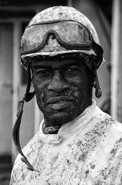 Jocky Photograph - Racetrack Heroes 2 by Bob Christopher