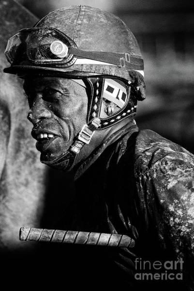 Jocky Photograph - Racetrack Heroes 4 by Bob Christopher