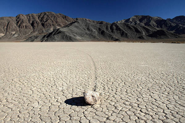 Racetrack Playa Photograph - Racetrack In Death Valley by Pierre Leclerc Photography