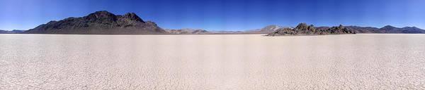 Racetrack Playa Photograph - Racetrack Playa Death Valley 360 Degree Panorama by Brian Lockett