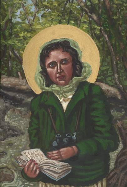 Painting - Rachel Carson by Kelly Latimore