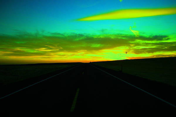 Wall Art - Photograph - Racing The Sunset by Jeff Swan