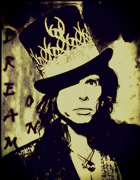 Frontman Wall Art - Photograph - Rad Hatter by Jenn Beck
