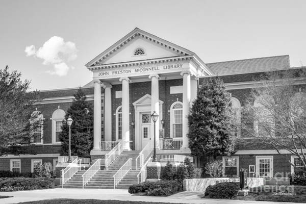 Radford Photograph - Radford University Mc Connell Library by University Icons