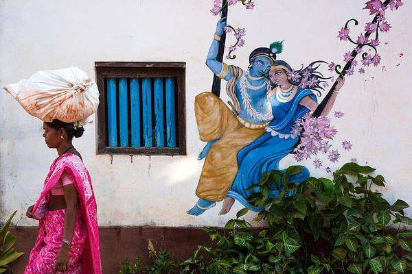 Photograph - Radha Krishna by Marji Lang