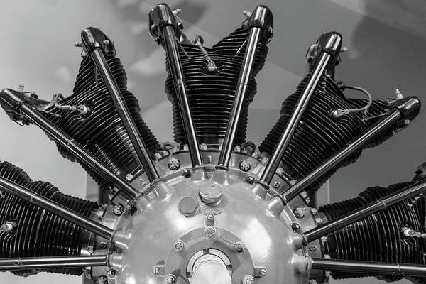 Photograph - Radial Aircraft Engine by SR Green