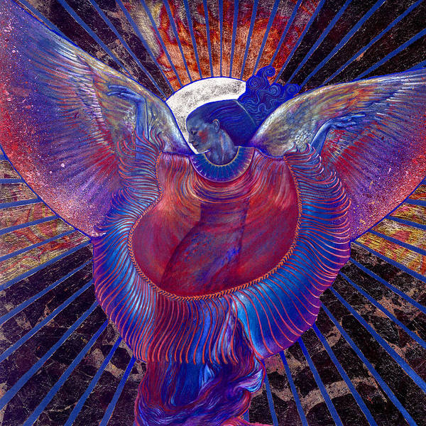 Angelic Beings Painting - Radiance by Ragen Mendenhall