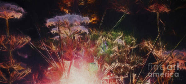Fresh Mixed Media - Radiant Hedgerow by Helen White
