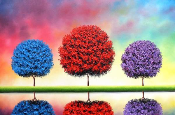 Wall Art - Painting - Radiant Splendor by Rachel Bingaman