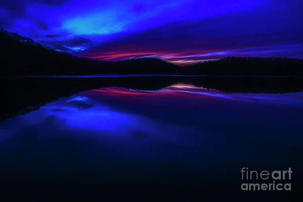 Photograph - Radiant Sunset Afterglow by Thomas R Fletcher