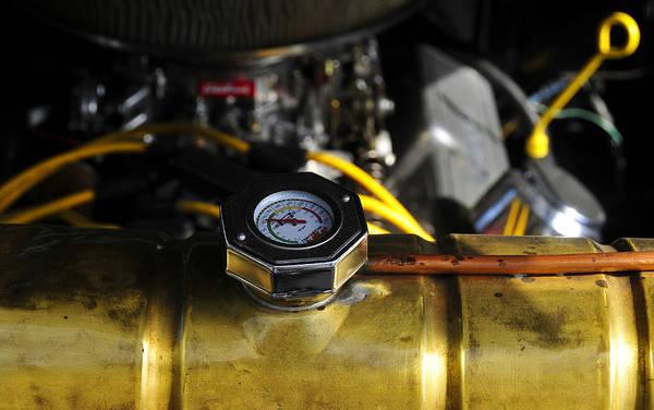 V8 Engine Photograph - Radiator by David Lee Thompson