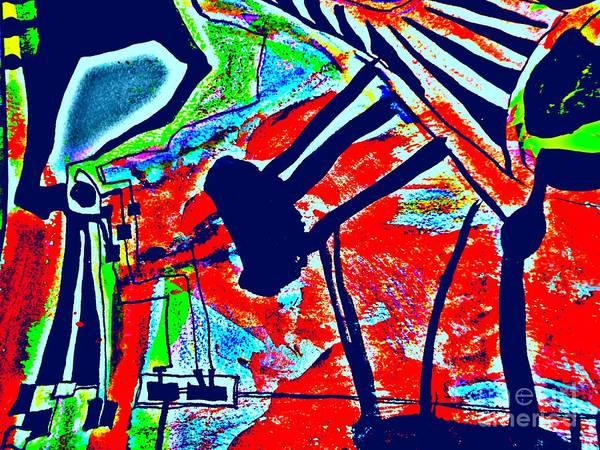 Painting - Radical Abstract-1 by Katerina Stamatelos
