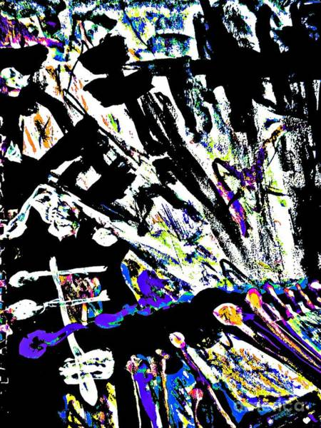 Painting - Radical Abstract-10 by Katerina Stamatelos
