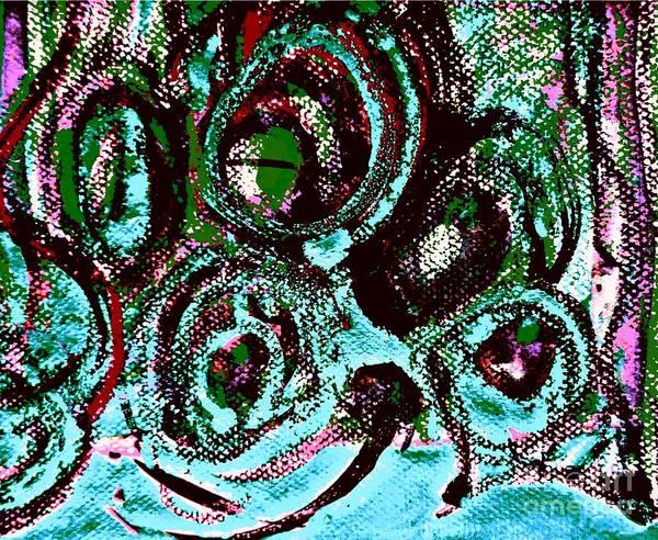 Painting - Radical Abstract-13 by Katerina Stamatelos