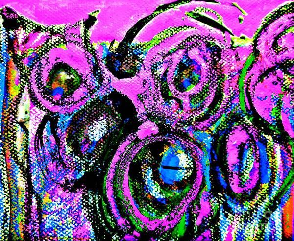 Painting - Radical Abstract-15 by Katerina Stamatelos