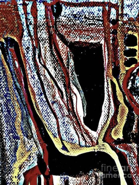 Painting - Radical Abstract-19 by Katerina Stamatelos