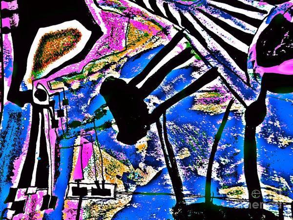 Painting - Radical Abstract-2 by Katerina Stamatelos