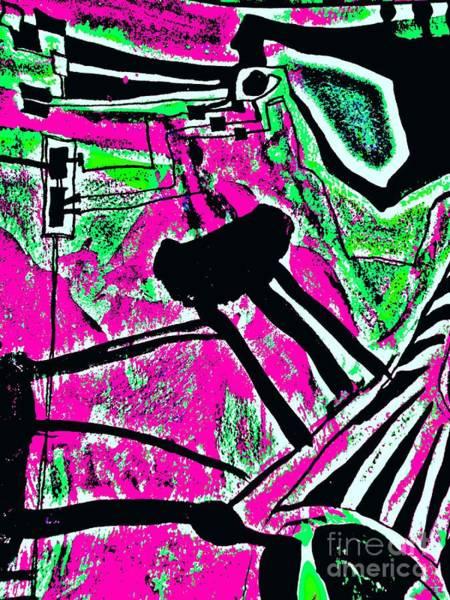 Painting - Radical Abstract-3 by Katerina Stamatelos