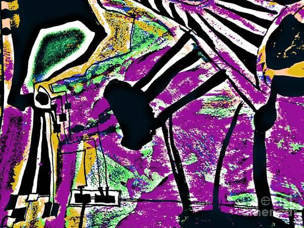 Painting - Radical Abstract-4 by Katerina Stamatelos
