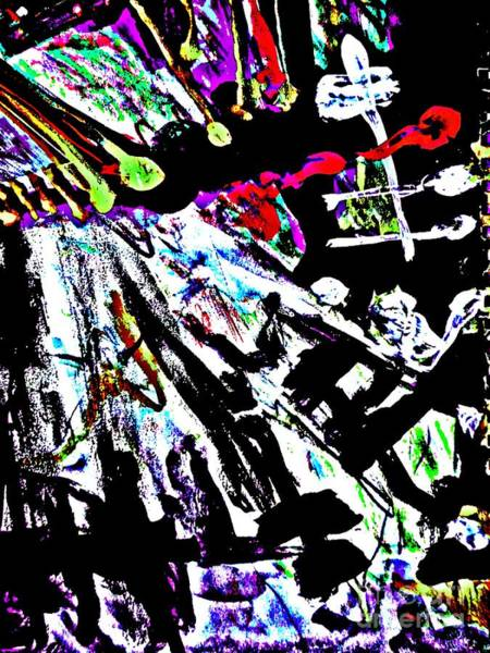 Painting - Radical Abstract-7 by Katerina Stamatelos